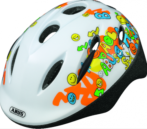 "Kask ""ABUS Smooty White"""