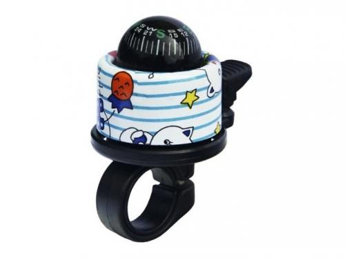 Dzwonek pajac z kompasem