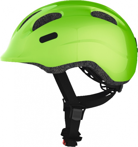 "Kask ""ABUS Smiley green"""