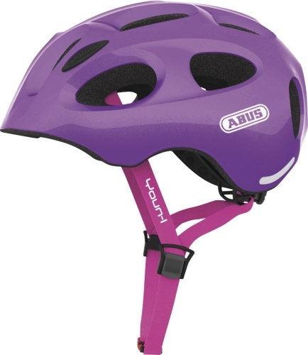 "Kask ""ABUS Youn-I sparkling purple"""